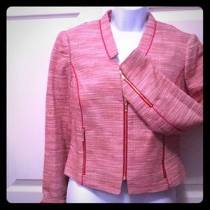 The Limited Blazer With Cherry Red Trim!